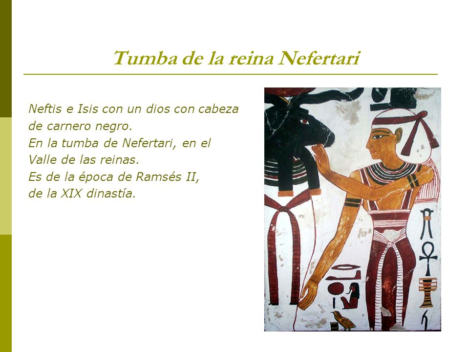 Tumba de la reina Nefertari