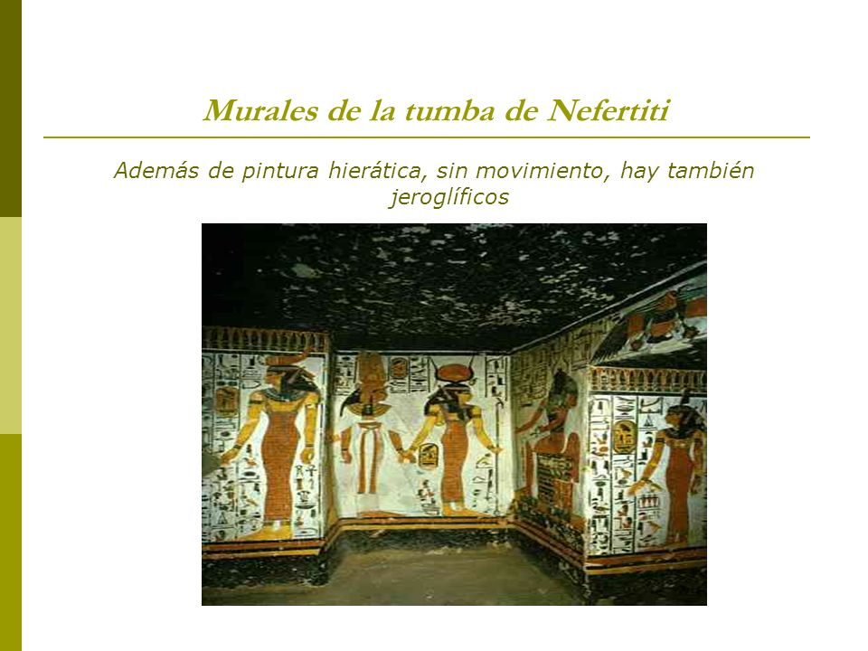 Murales de la tumba de Nefertiti