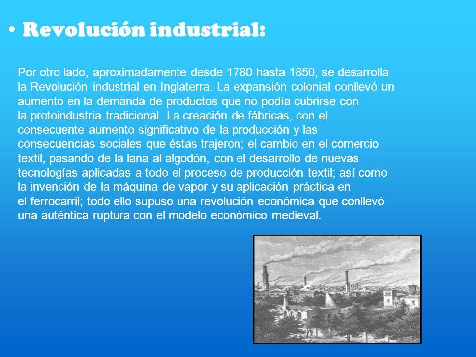 Revolución industrial: