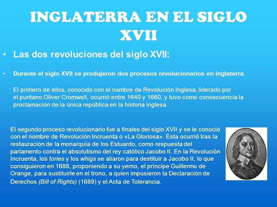 INGLATERRA EN EL SIGLO XVII