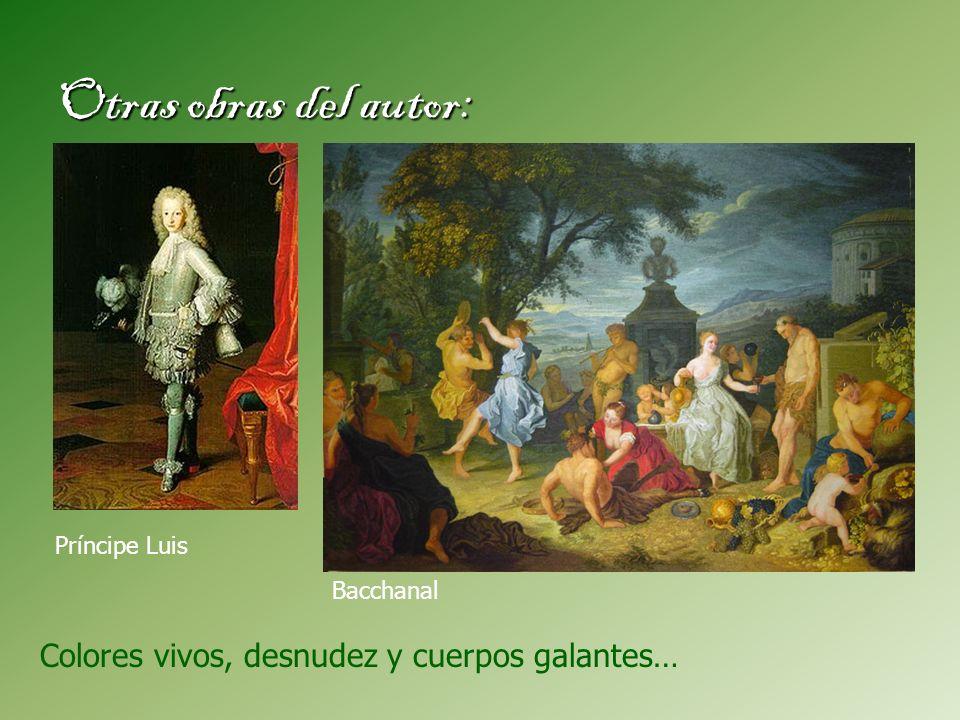 Otras obras del autor: Colores vivos, desnudez y cuerpos galantes…