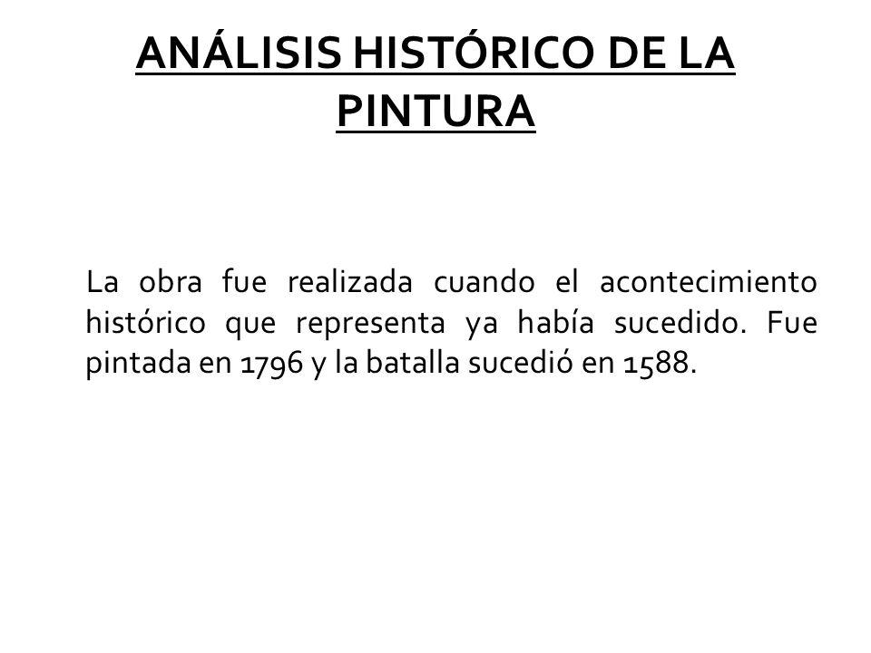 ANÁLISIS HISTÓRICO DE LA PINTURA