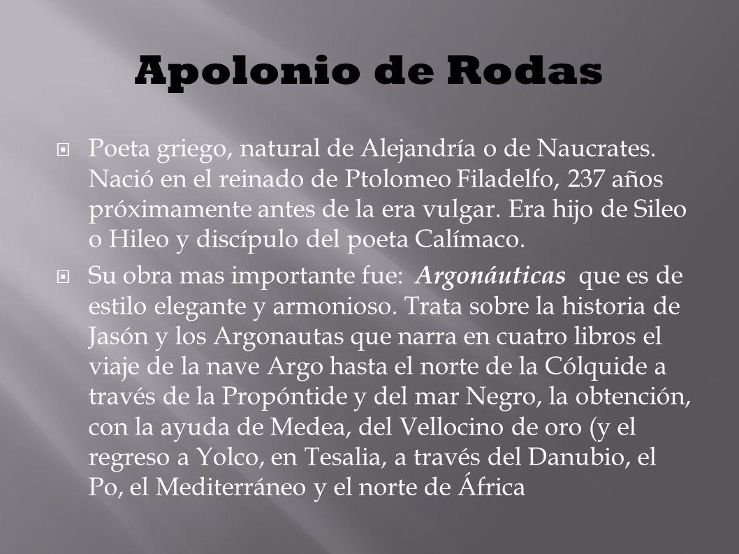 Apolonio de Rodas