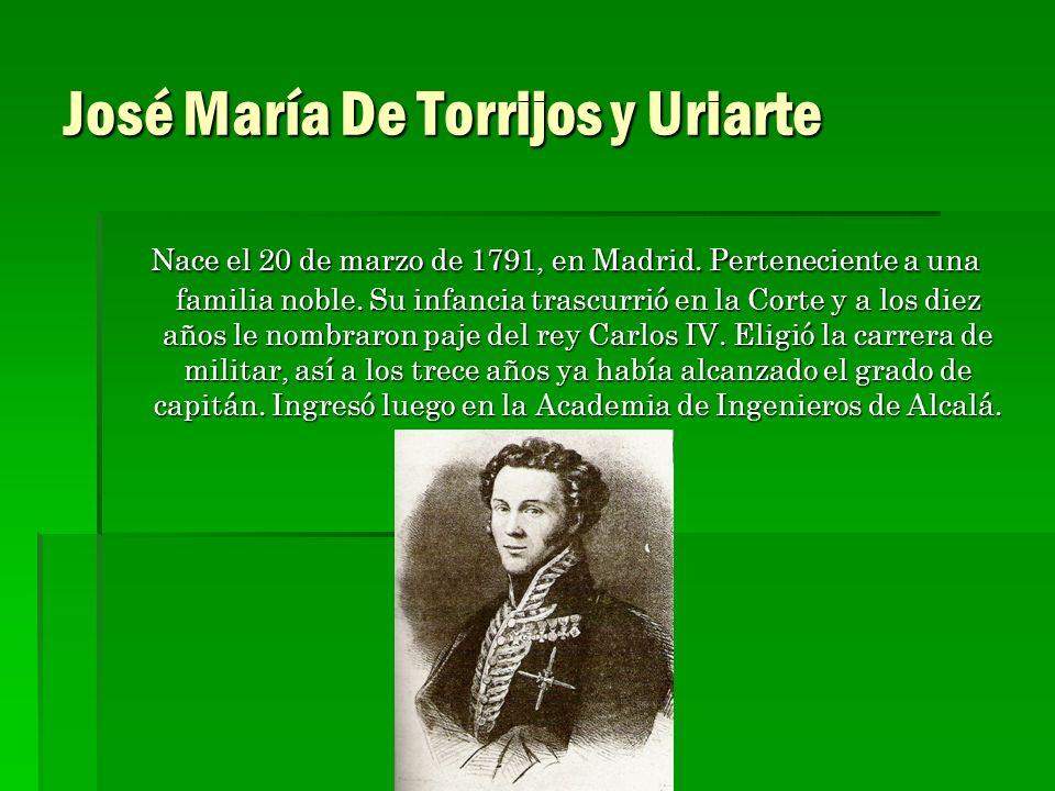 José María De Torrijos y Uriarte