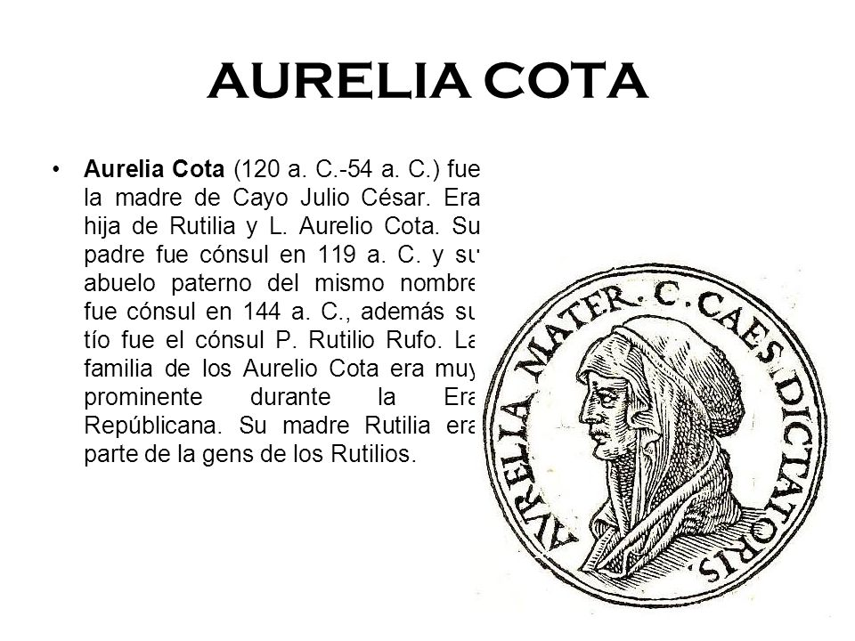 AURELIA COTA