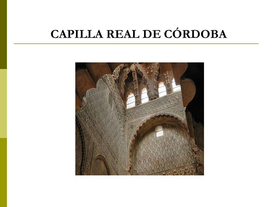 CAPILLA REAL DE CÓRDOBA