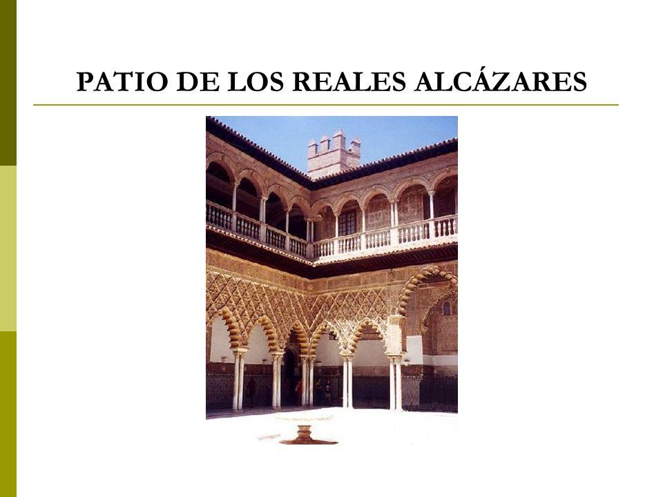 PATIO DE LOS REALES ALCÁZARES