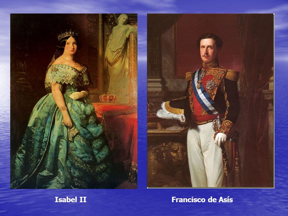 Isabel II Francisco de Asís