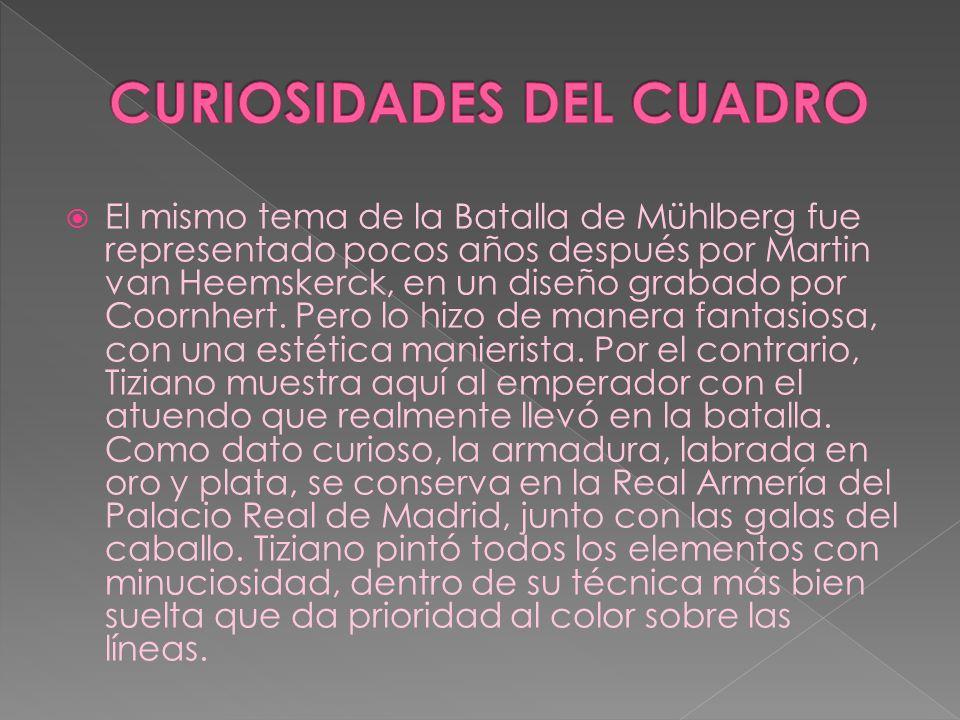 CURIOSIDADES DEL CUADRO