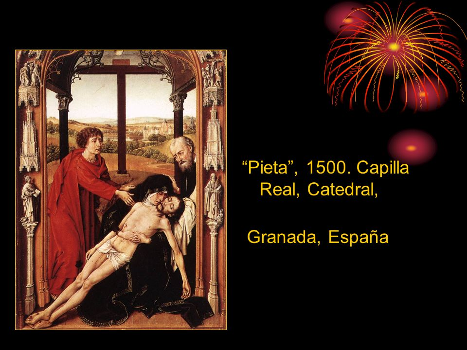 Pieta , 1500. Capilla Real, Catedral,