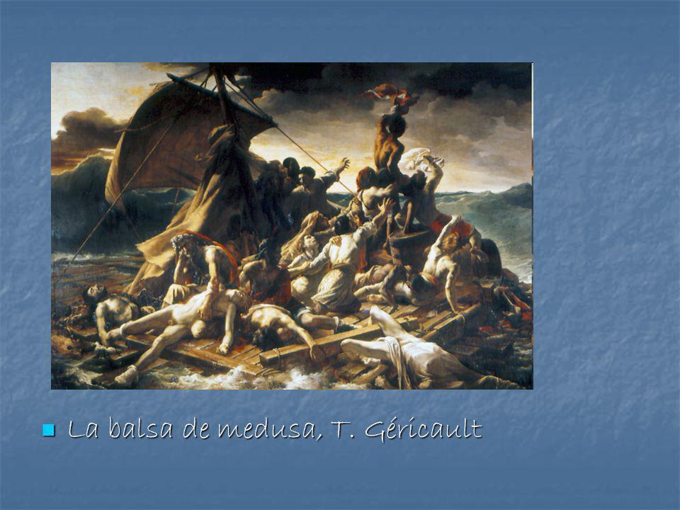 La balsa de medusa, T. Géricault