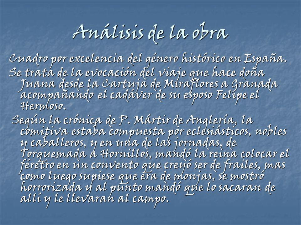 Análisis de la obra Cuadro por excelencia del género histórico en España.