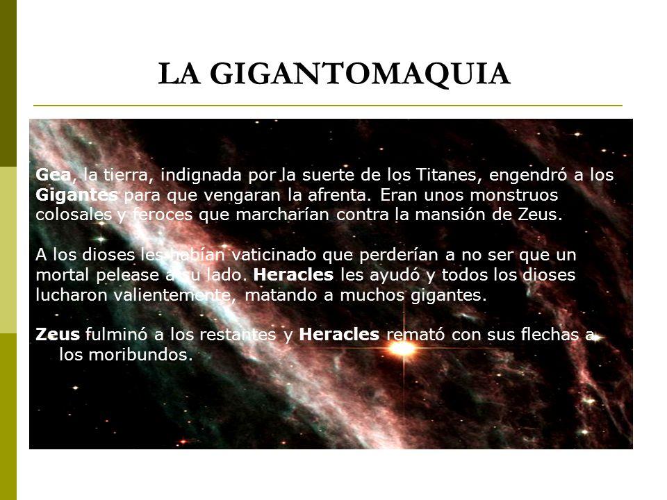 LA GIGANTOMAQUIA