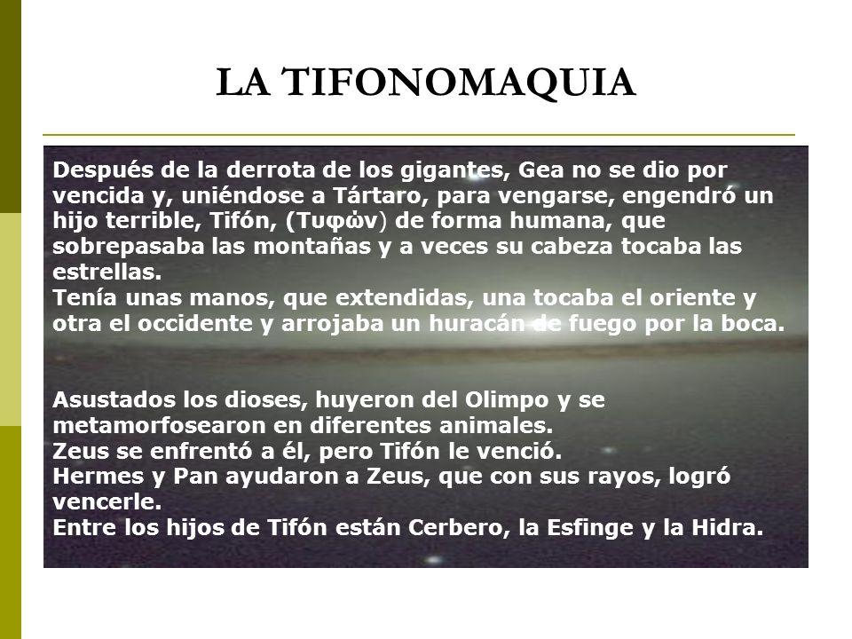 LA TIFONOMAQUIA