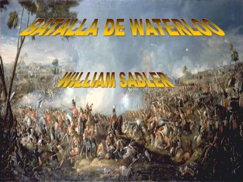 BATALLA DE WATERLOO WILLIAM SADLER