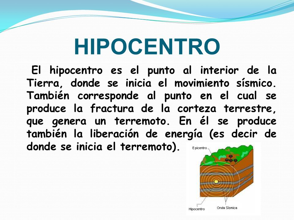 HIPOCENTRO