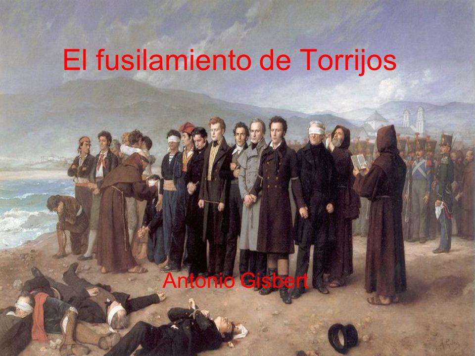 El fusilamiento de Torrijos