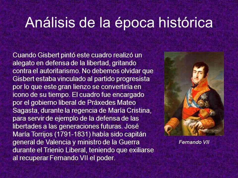 Análisis de la época histórica