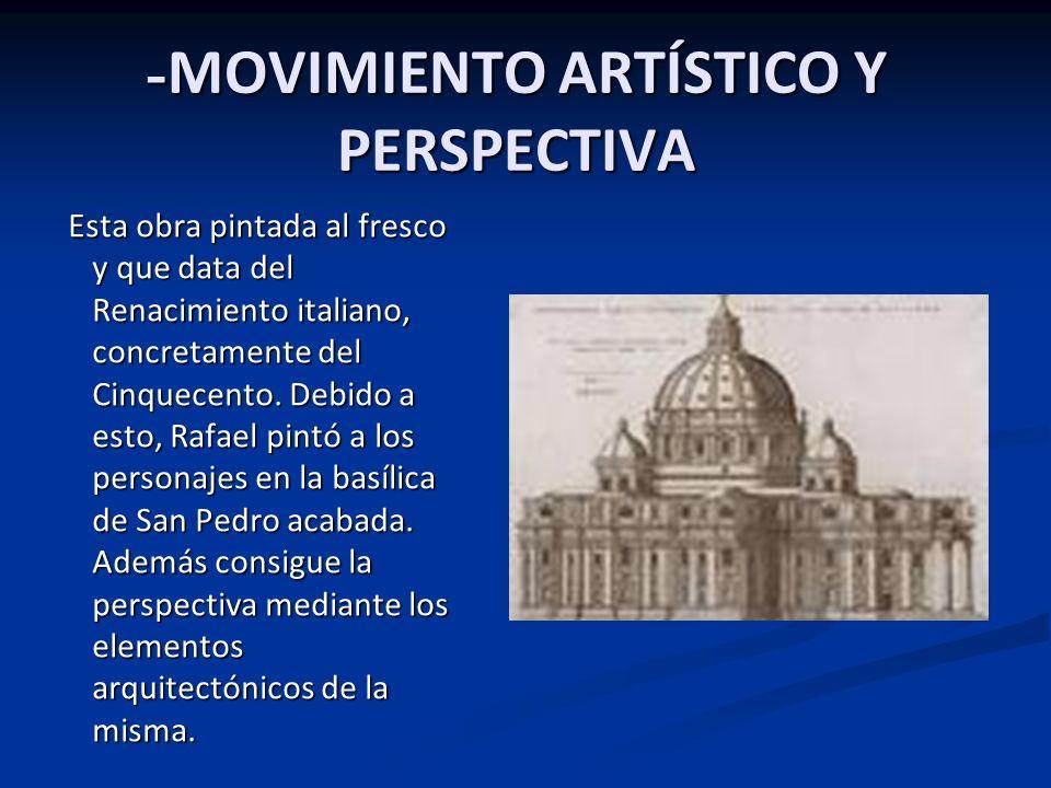 -MOVIMIENTO ARTÍSTICO Y PERSPECTIVA
