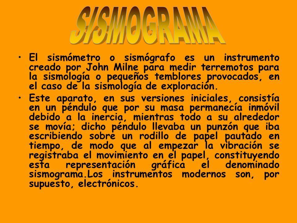SISMOGRAMA