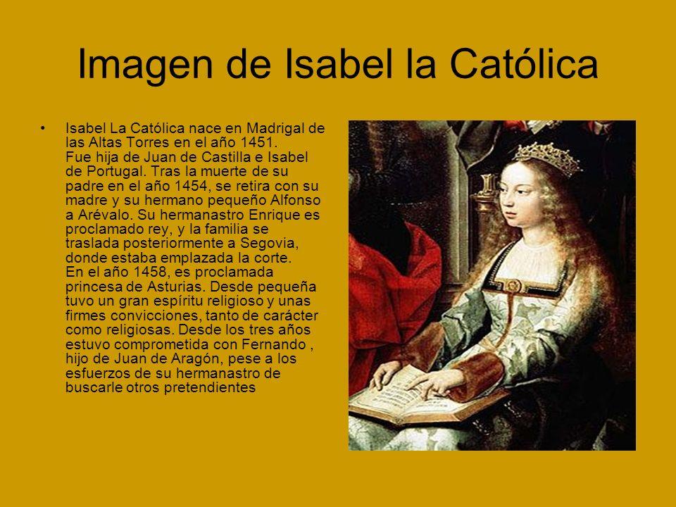 Imagen de Isabel la Católica