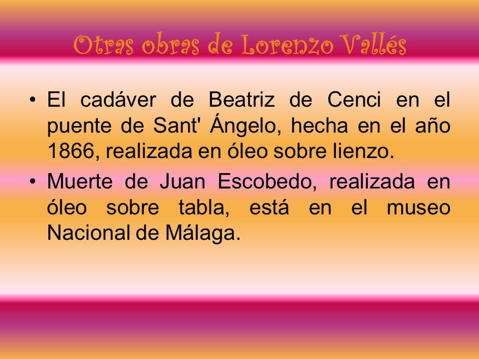 Otras obras de Lorenzo Vallés