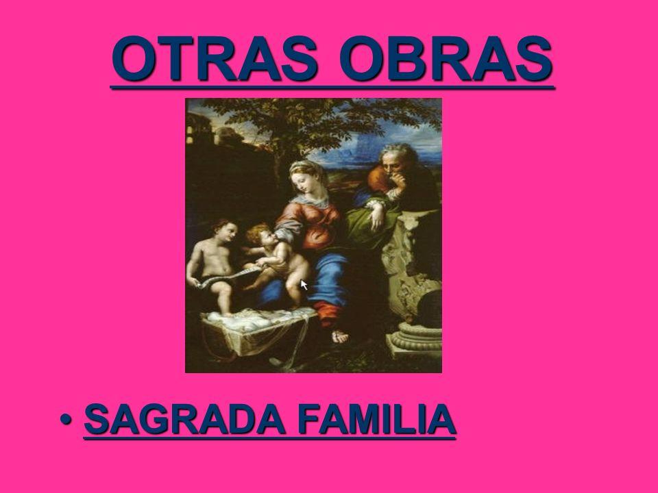 OTRAS OBRAS SAGRADA FAMILIA