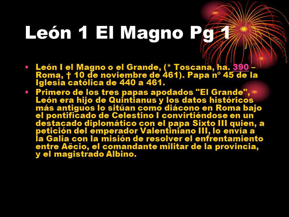 León 1 El Magno Pg 1