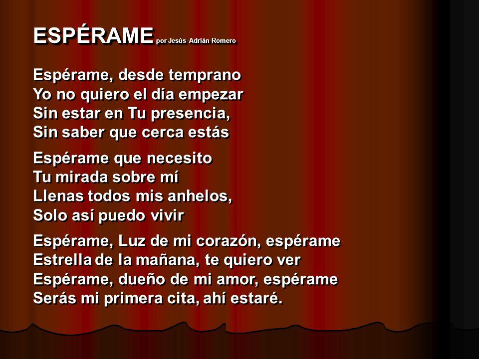 ESPÉRAME por Jesús Adrián Romero