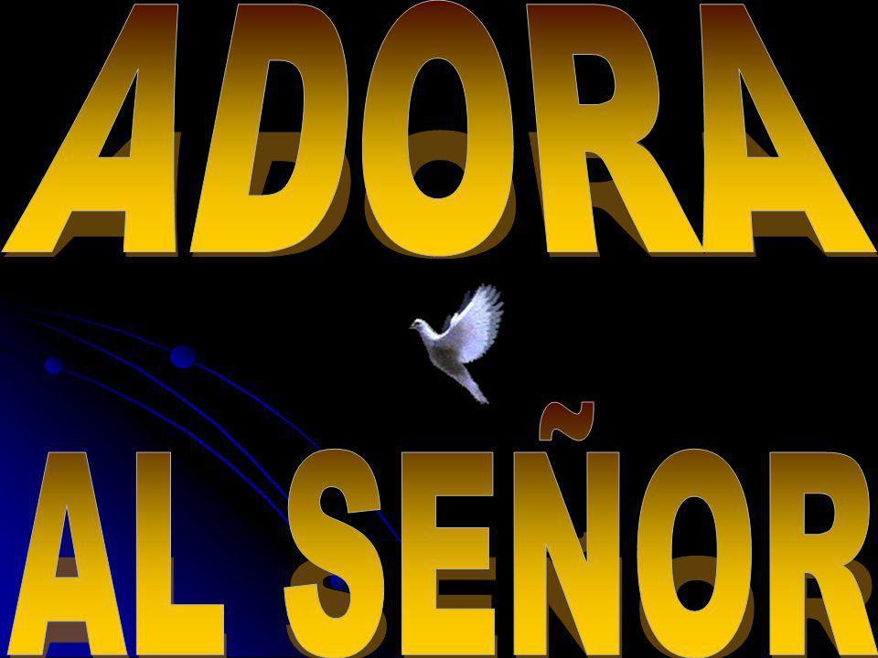 ADORA AL SEÑOR