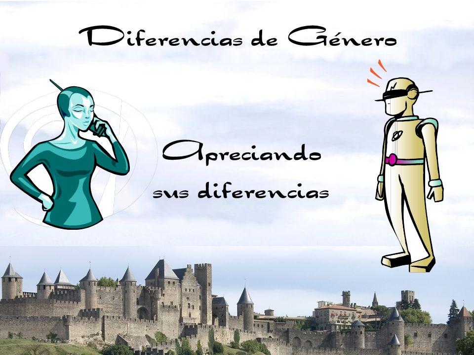 Diferencias de Género Apreciando sus diferencias ACTIVIDAD