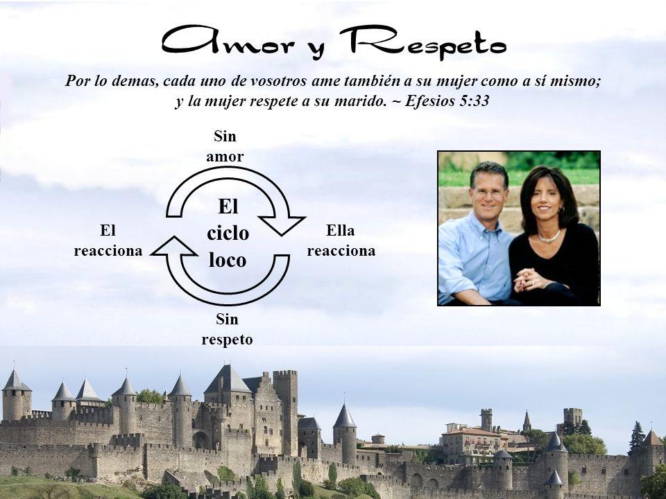 y la mujer respete a su marido. ~ Efesios 5:33