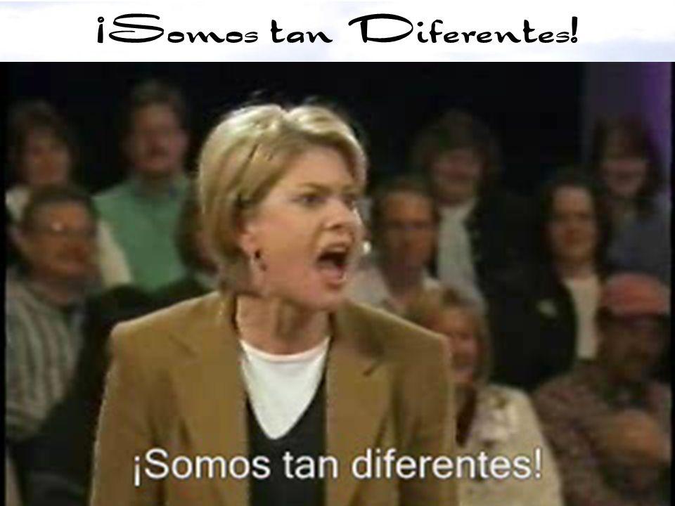 ¡Somos tan Diferentes!