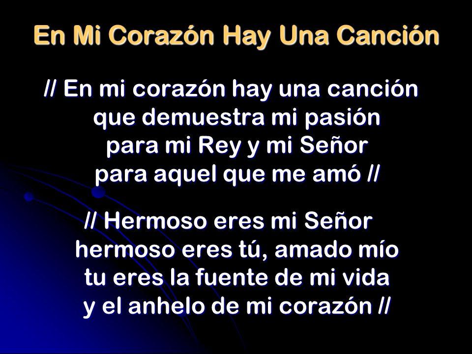 En Mi Corazón Hay Una Canción
