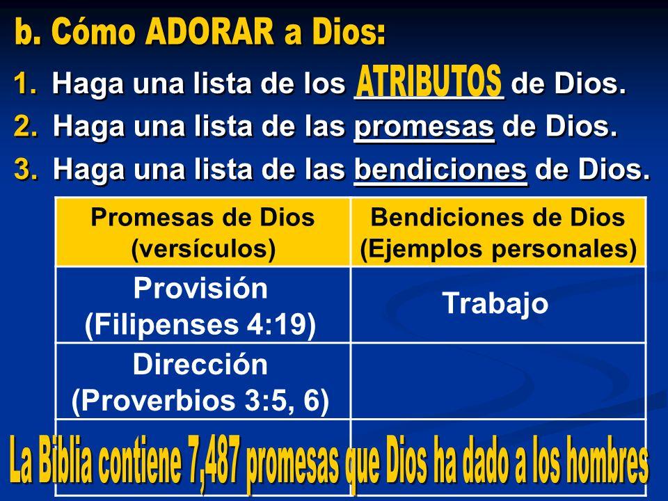 La Biblia contiene 7,487 promesas que Dios ha dado a los hombres
