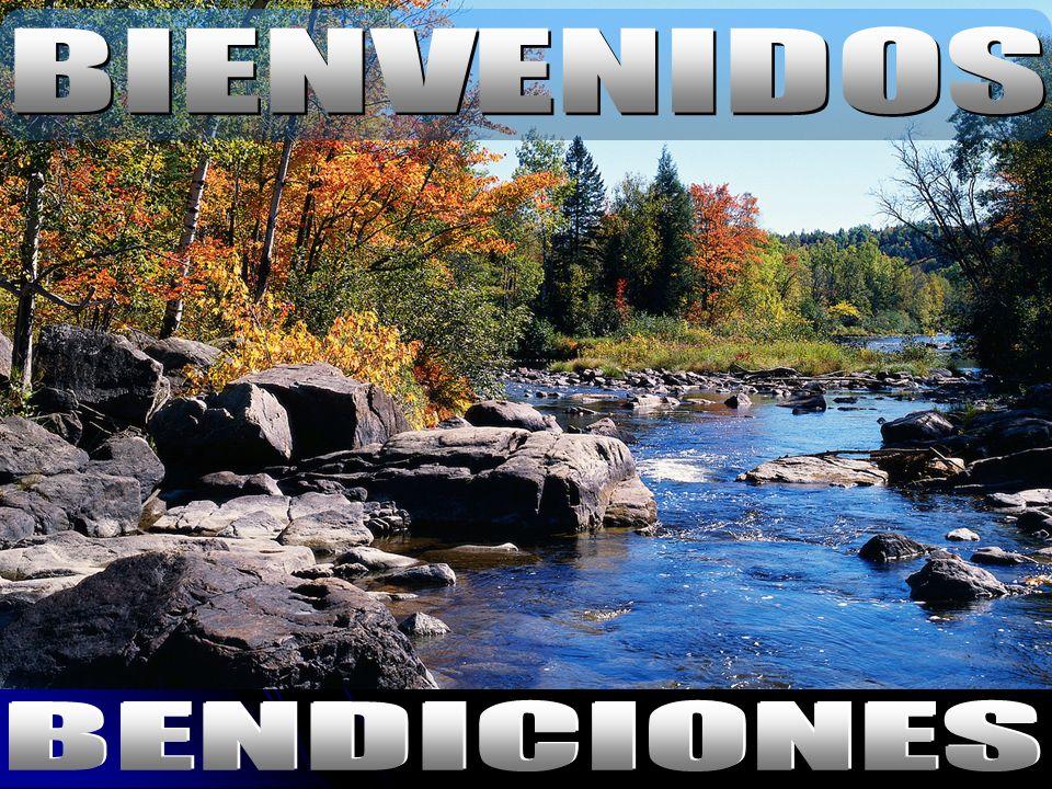 BIENVENIDOS BENDICIONES