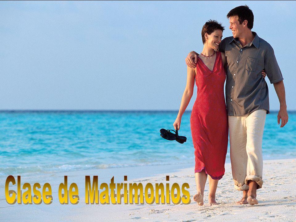 Clase de Matrimonios