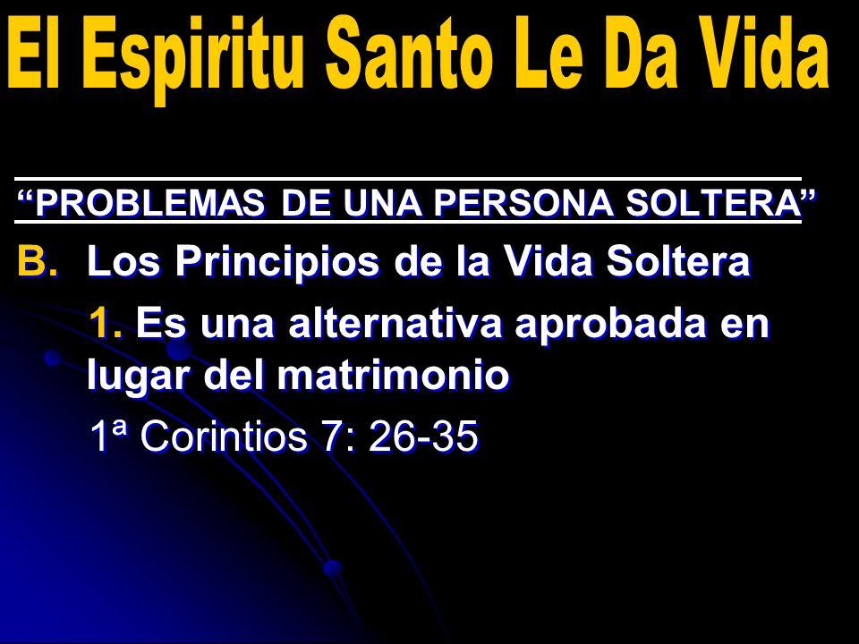 El Espiritu Santo Le Da Vida