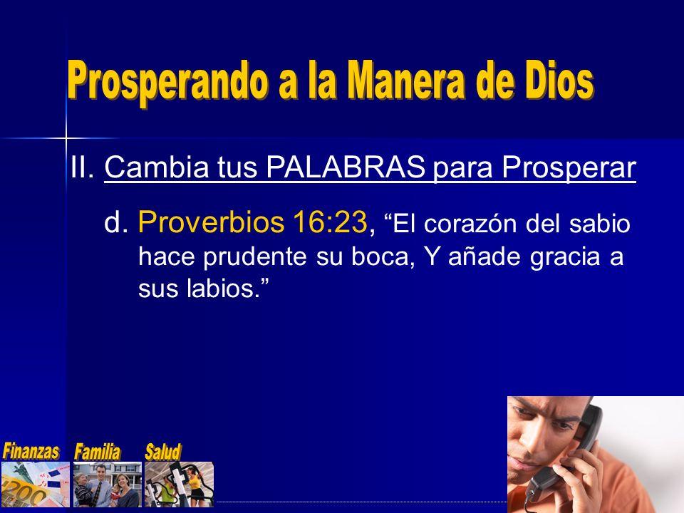 Prosperando a la Manera de Dios