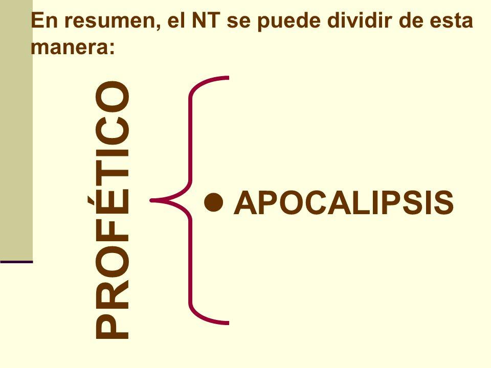 PROFÉTICO APOCALIPSIS