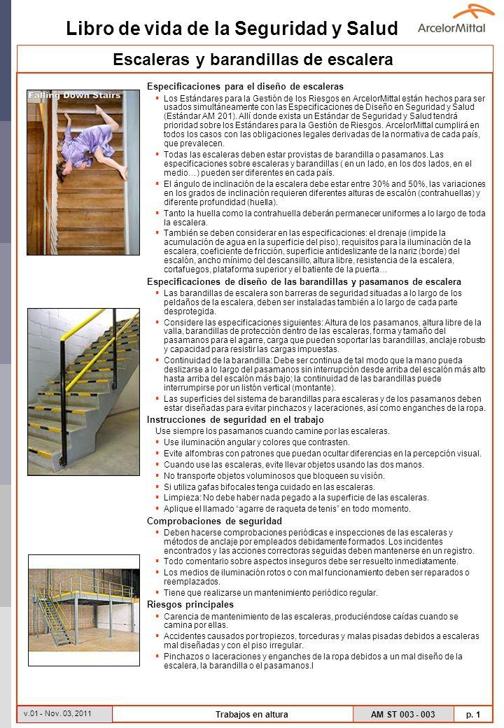 Escaleras y barandillas de escalera