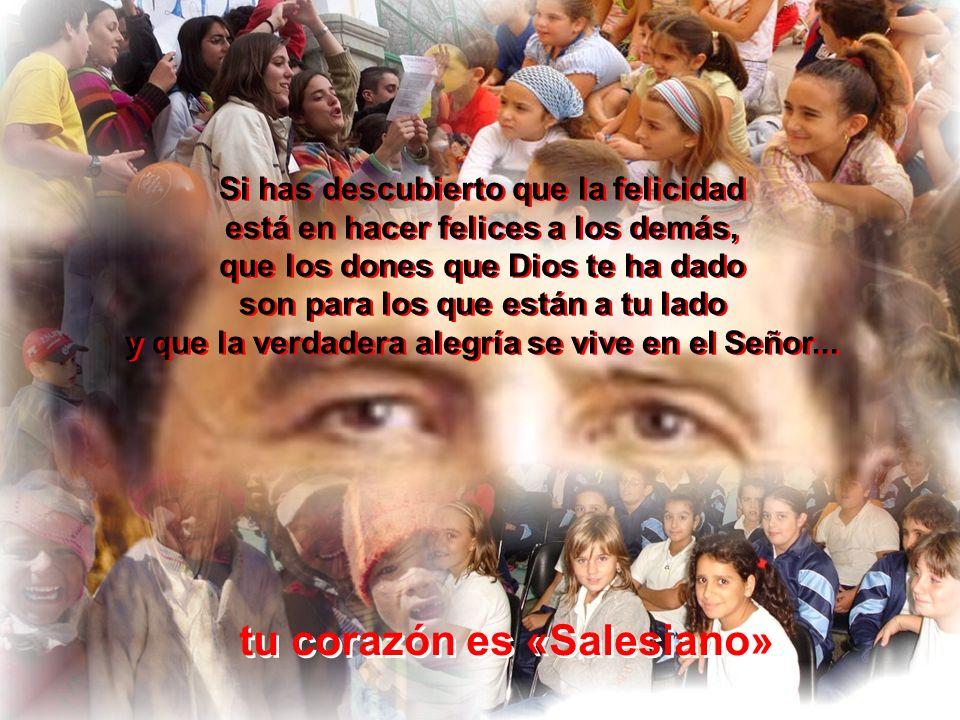 tu corazón es «Salesiano»