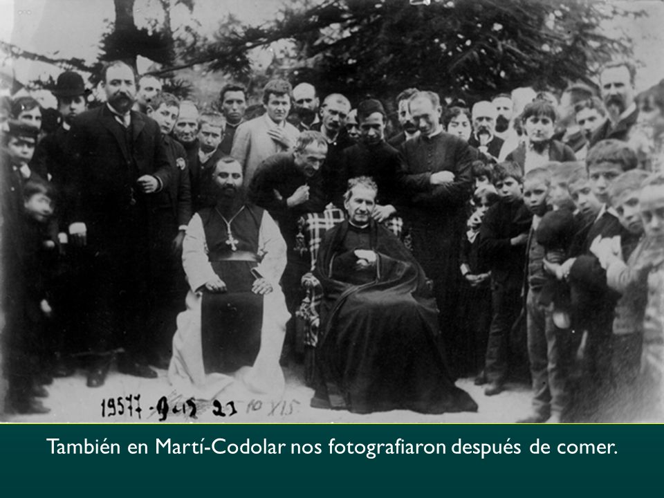 También en Martí-Codolar nos fotografiaron después de comer.
