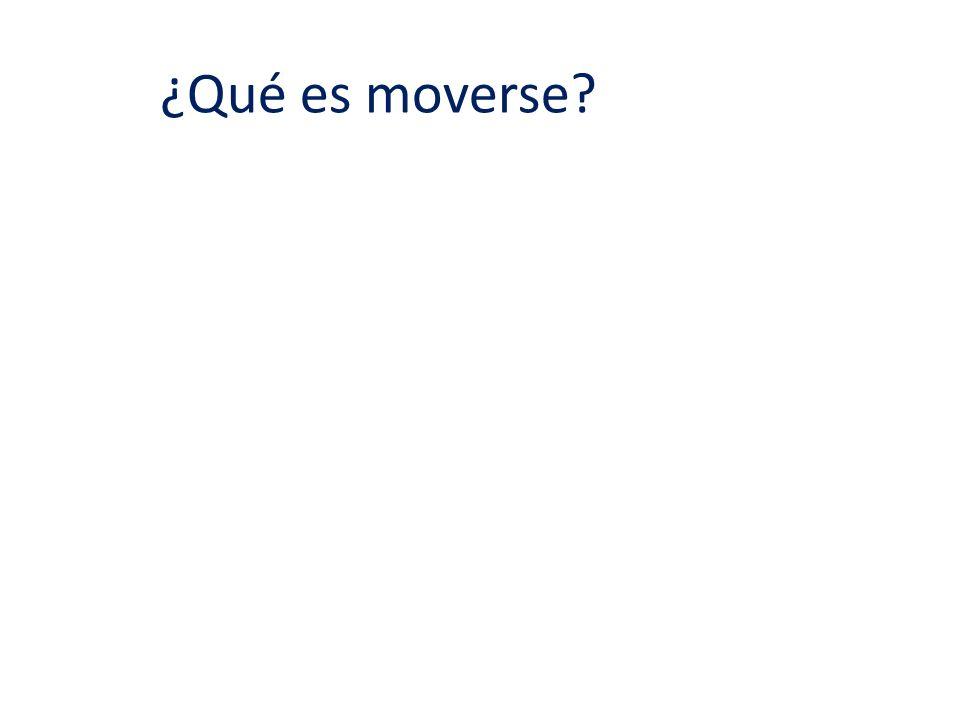 ¿Qué es moverse