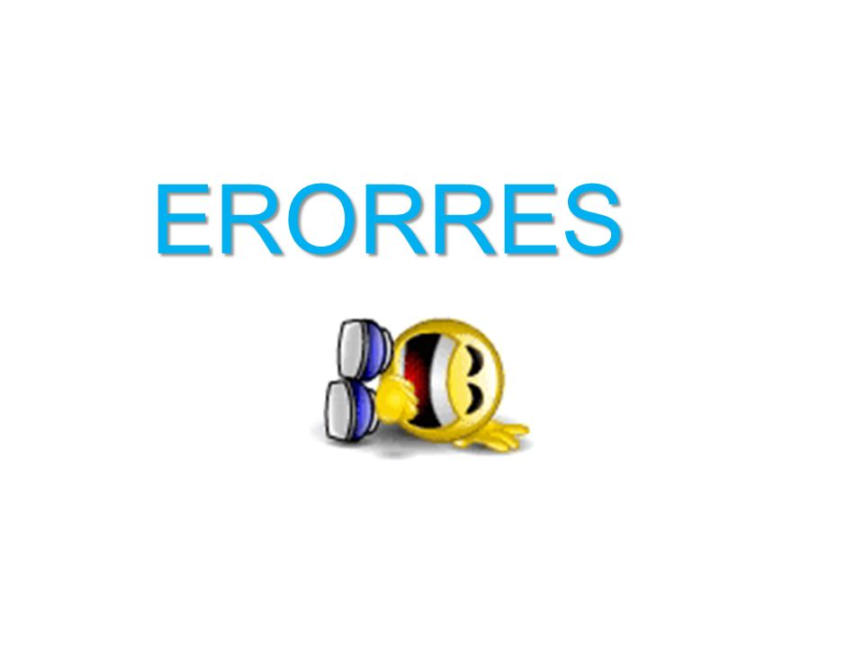 ERORRES
