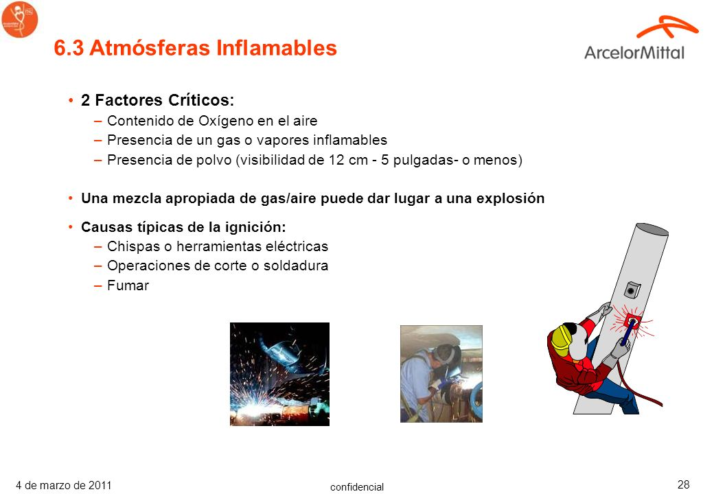 6.3 Atmósferas Inflamables