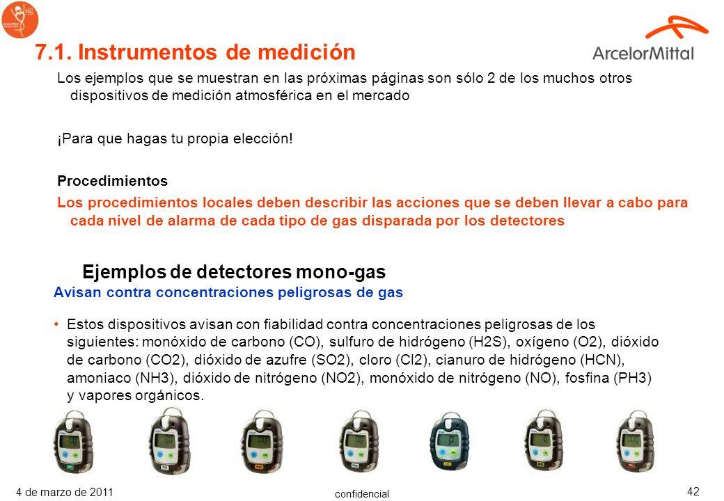 7.1. Instrumentos de medición