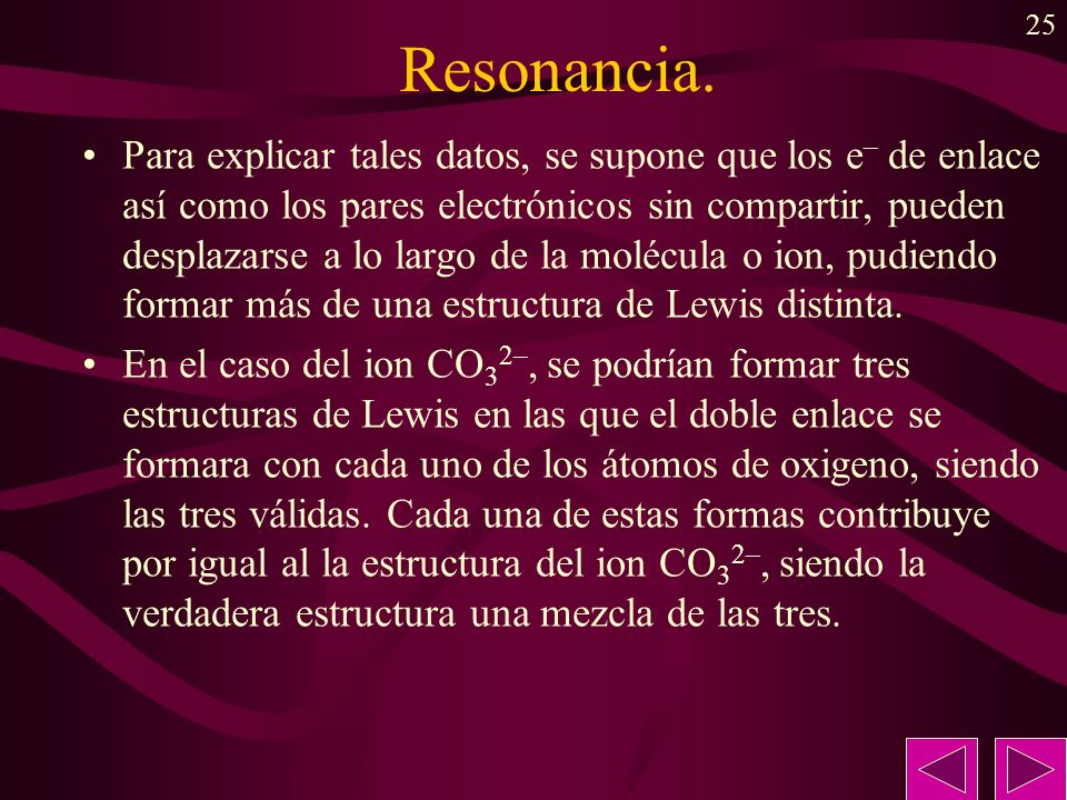 Resonancia.