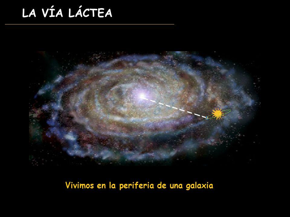 Vivimos en la periferia de una galaxia