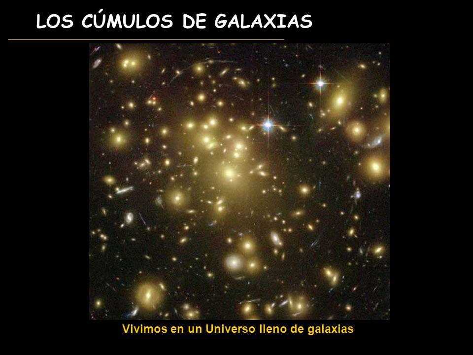 LOS CÚMULOS DE GALAXIAS